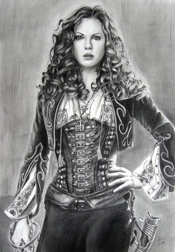 Amazing Pencil DrawingsVan Helsing Drawing