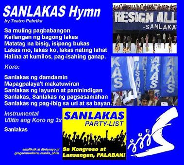 SANLAKAS Hymn