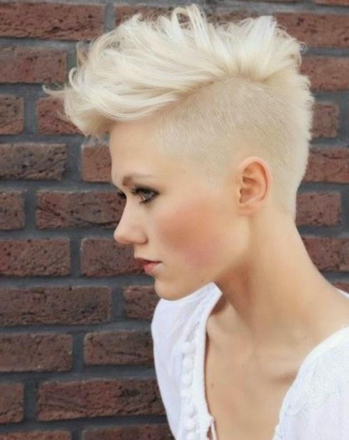 Geschoren Kapsels op Pinterest Half Geschoren Haar  - geschoren kapsels dames