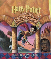 audiobook cover of Harry Potter and the Sorcerer's Stone by J.K. Rowling