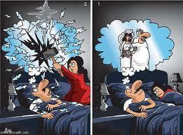 رجل يلقن زوجته درسا لن تنساه طول عمرها !!!!