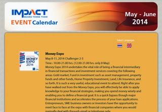 IMPACT Event Calendar, May - June 2014