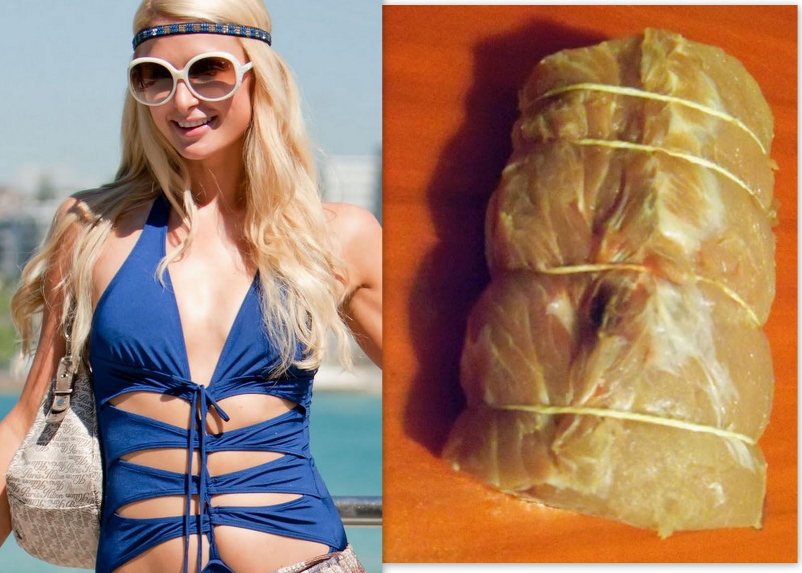 Paris Hilton looks good enough