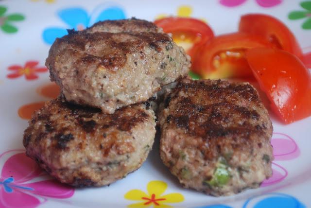 Pan Cuisine: Pan-Grilled Beef Patties