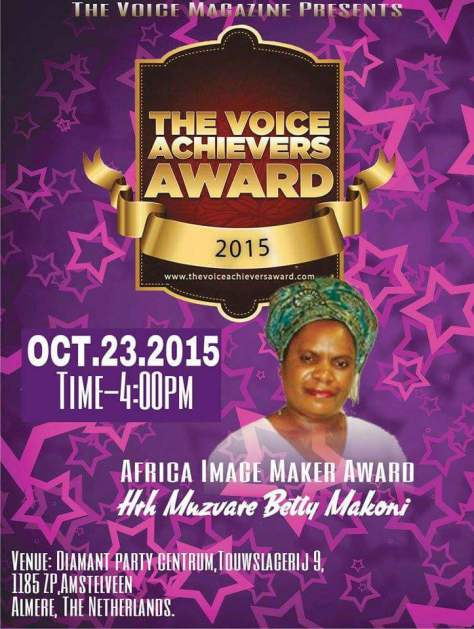 Image of Africa Maker-The Voice Achievers Award