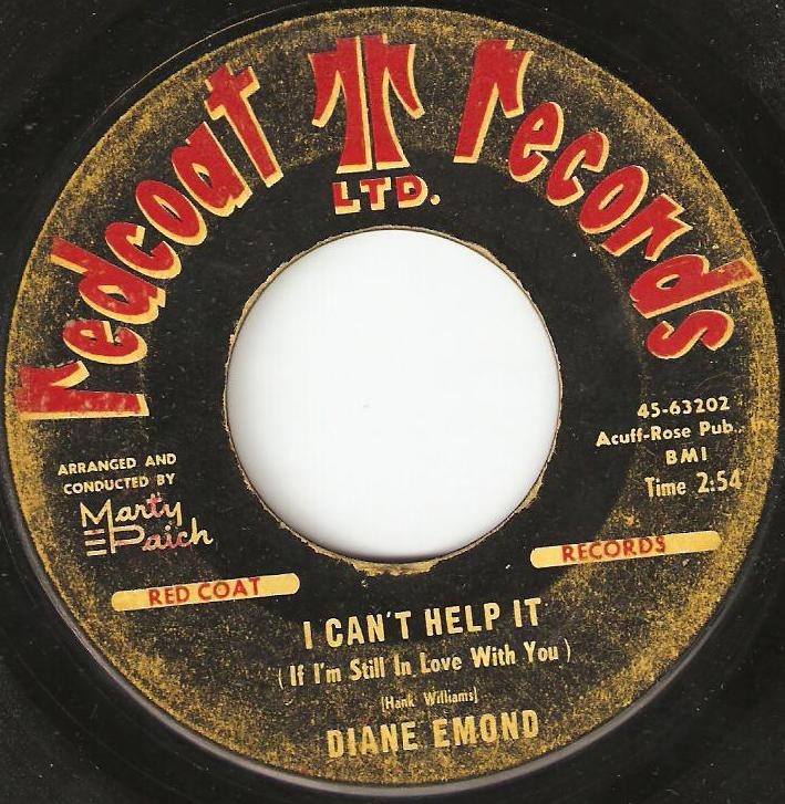 Diane Emond I Wanna Be Your Lover I Cant Help It