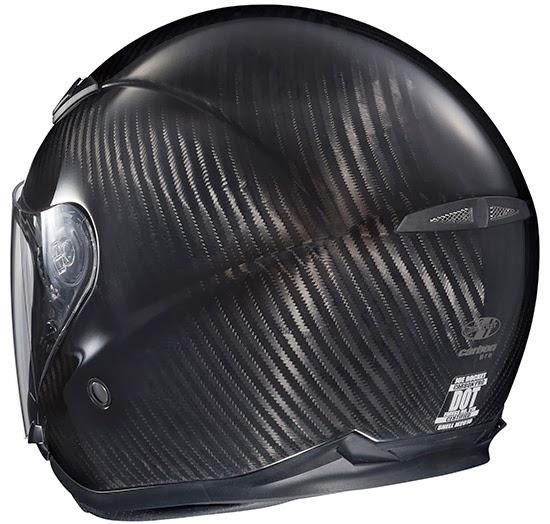 Joe Rocker Carbon Fiber Pro Motorcycle Helmet