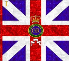 1st Regiment of Foot (The Royal Regiment) Kings Colour