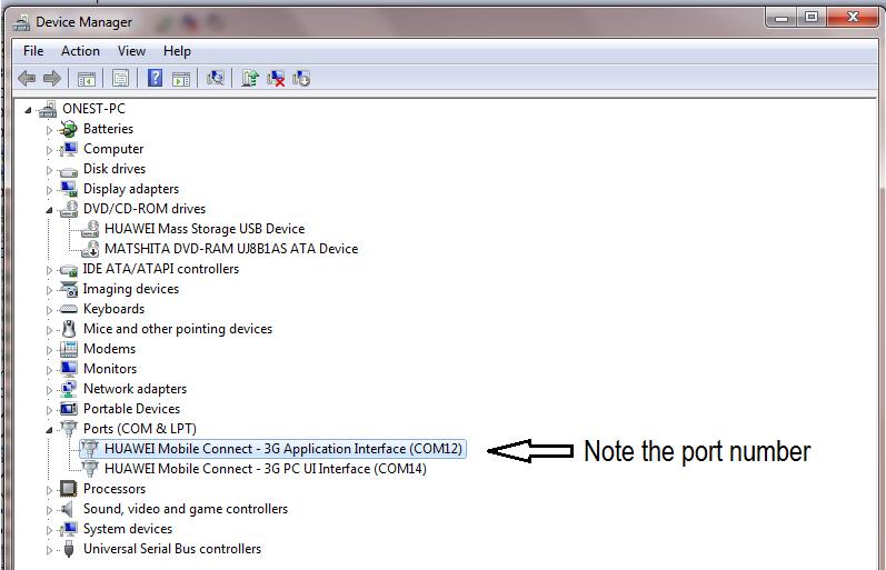 idea 3g data card software