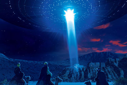 Could Jesus Christ Be One Of The First Alien Hybrids, The Son Of An Extraterrestrial And An Earthly Woman?