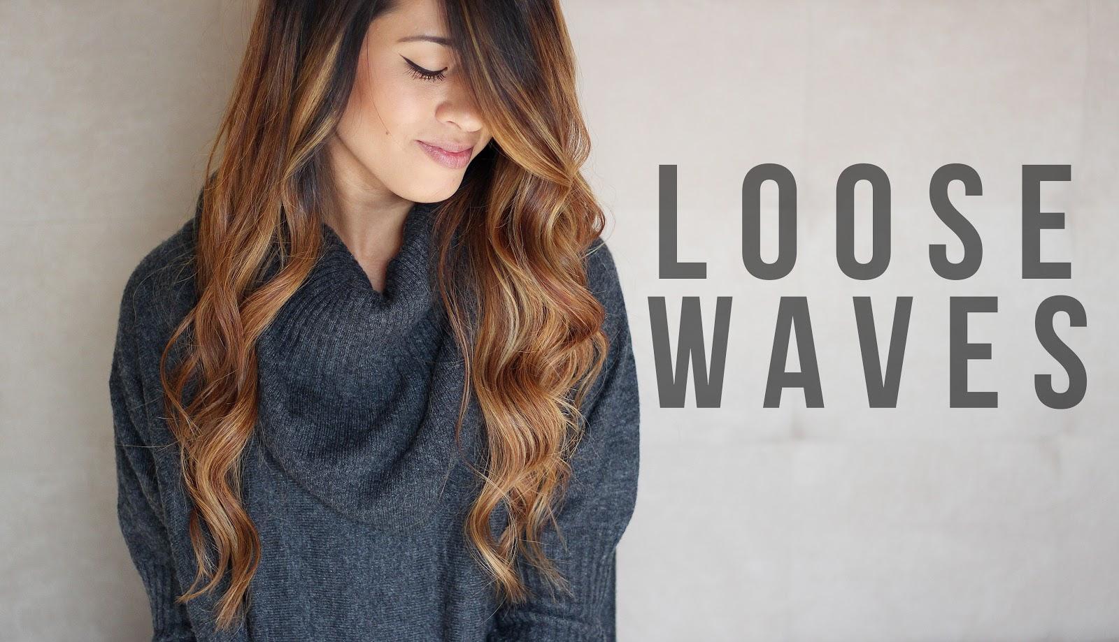 Loose Waves Tutorial + How to Curl Long Hair | Auteur ...