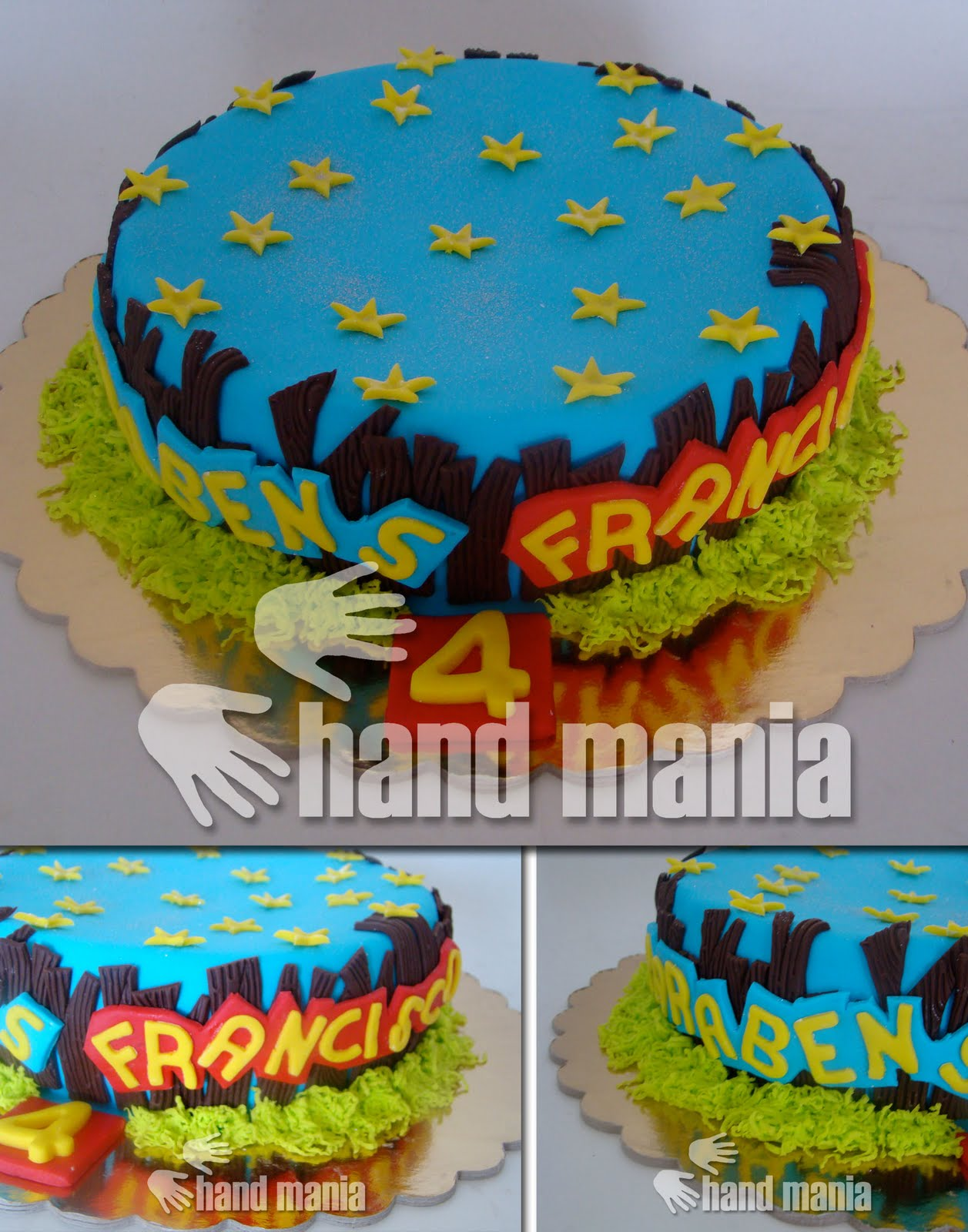 Juegos De Baños Decorados:kB · jpeg, CAKE DESIGN BOLOS DECORADOS source: http://handmania-bolos