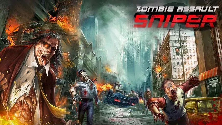 Zombie Assault:Sniper v1.10 Mod [Unlimited Money]