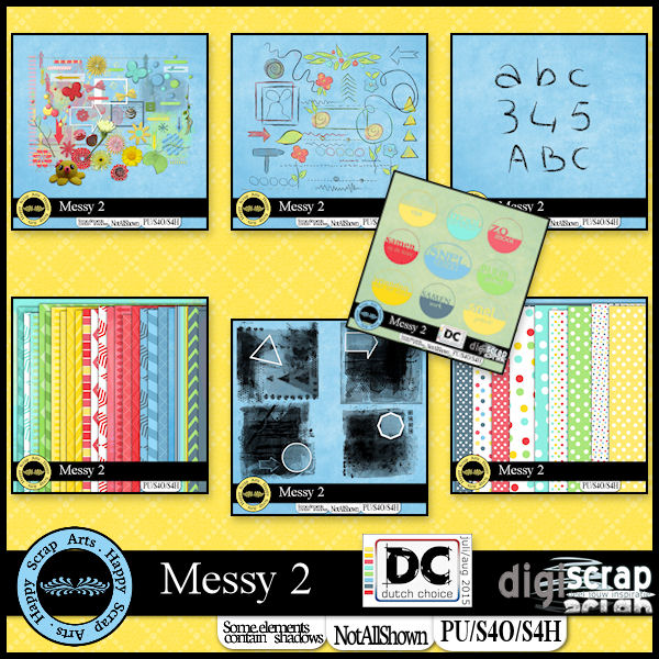 HSA Messy 2 bundle