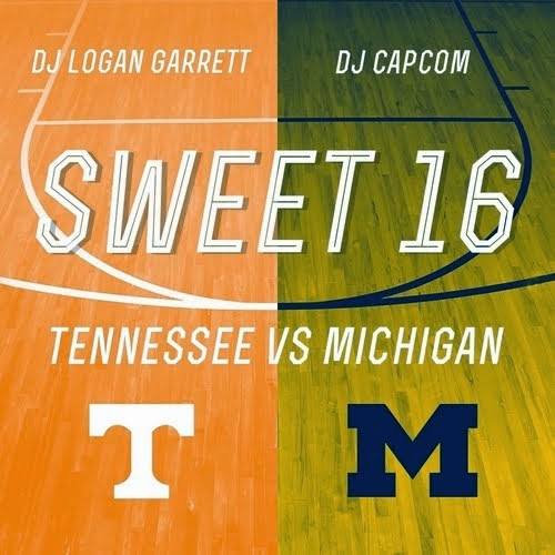 """SWEET 16"" HOSTED BY DJ CAPCOM x DJ LOGAN GARRETT"