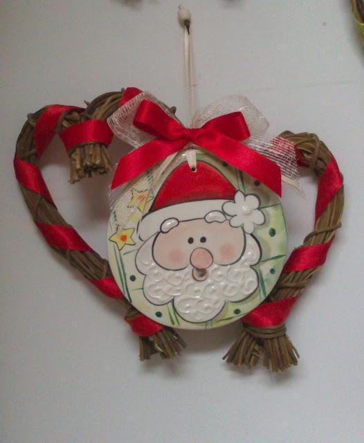 Ceramica come mestiere decorazioni natalizie per la casa - Decorazioni per la casa natalizie ...