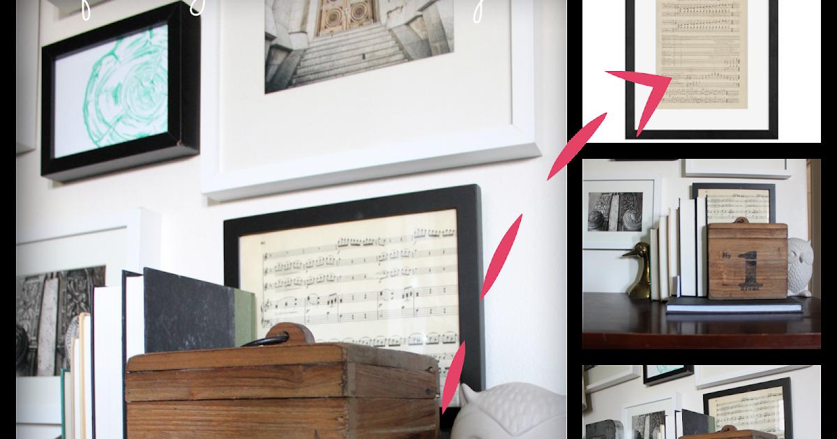from gardners 2 bergers pottery barn hack easy framed. Black Bedroom Furniture Sets. Home Design Ideas