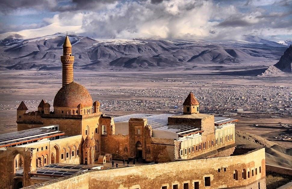 Ishak Pasha Palace ~ Nature Conservancy