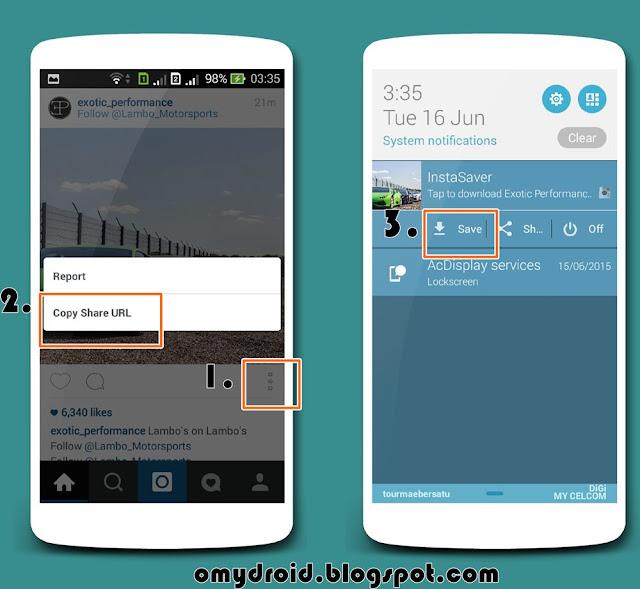 Cara Download Gambar Instagram