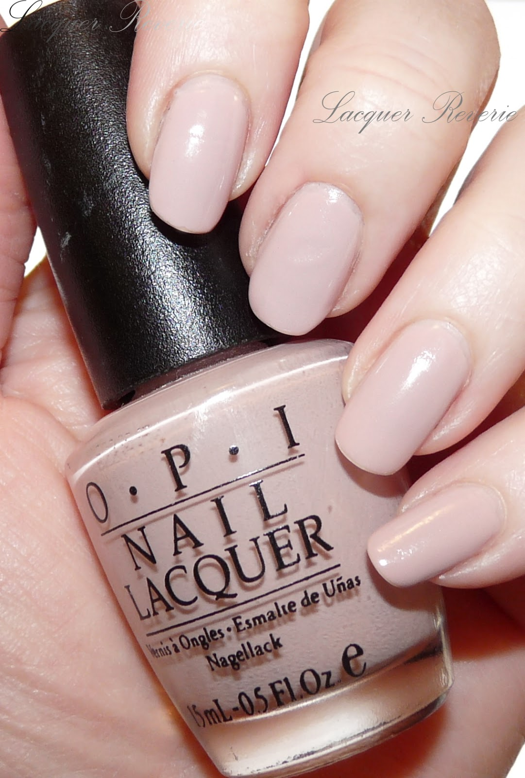 lacquer reverie: history lovers only! opi miso happy with this color