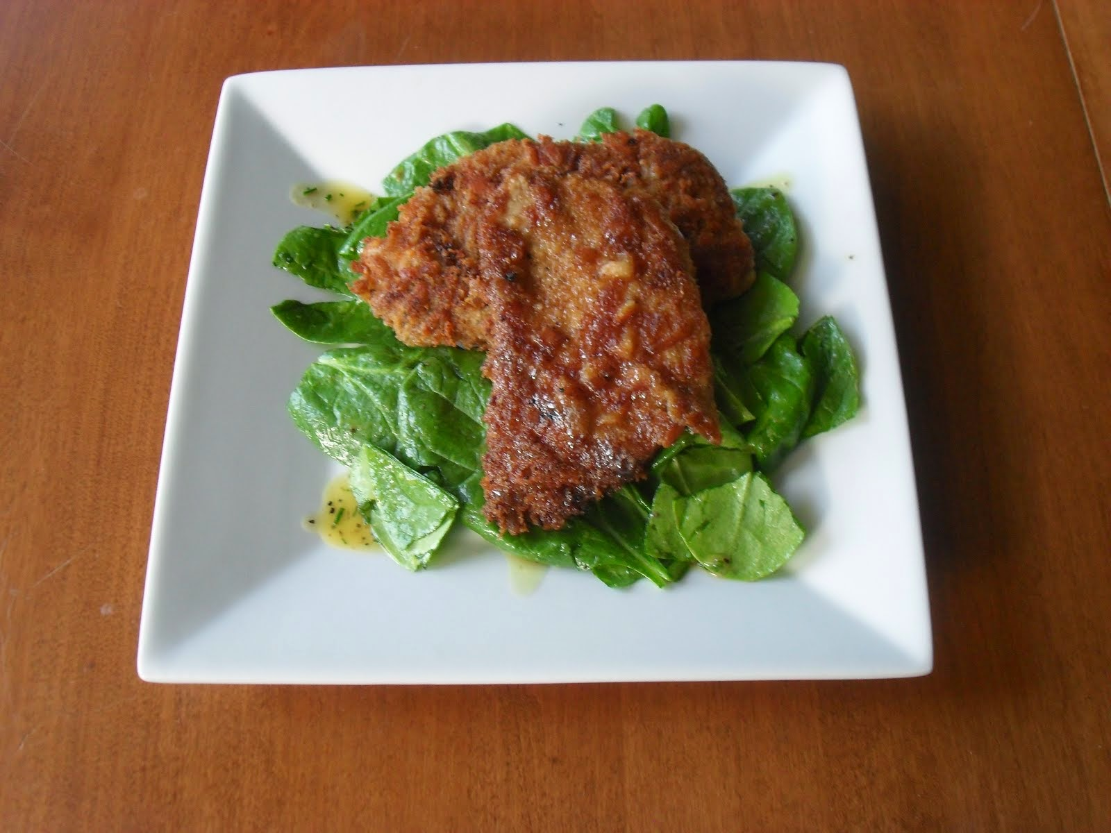 Cutlet Coated in Aged Jack Cheese Crust