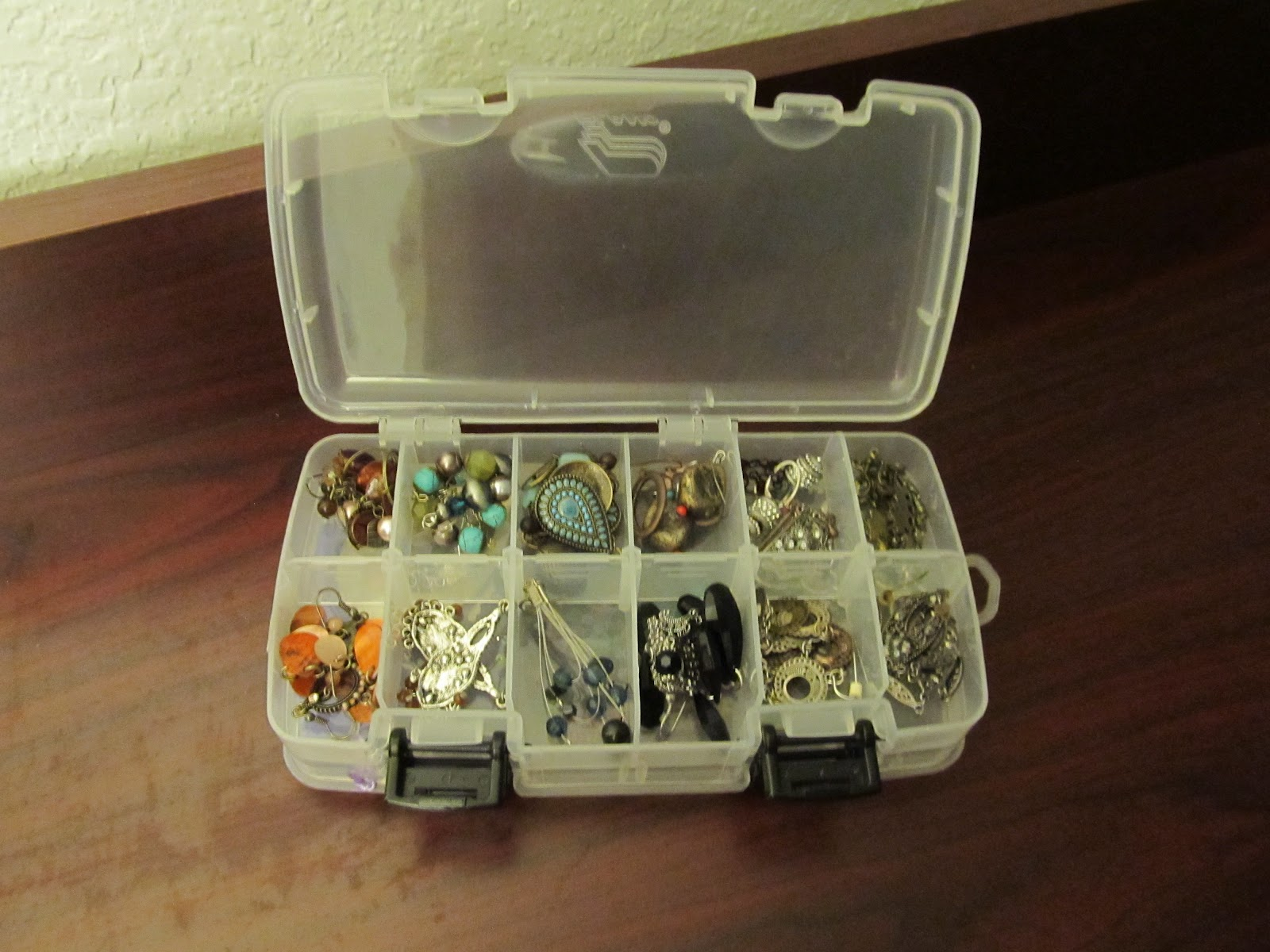 Chrystals Corner Tackle Box Jewelry Organizer