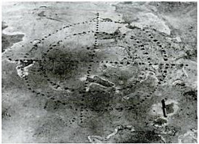 Pecked crosses o patolli de Teotihuacan