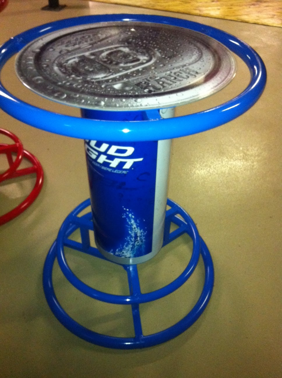 Superbe Here Are Some Photou0027s Of The Bar Table Wraps We Did For The Ranch. Branded  With Bud And Bud Light.