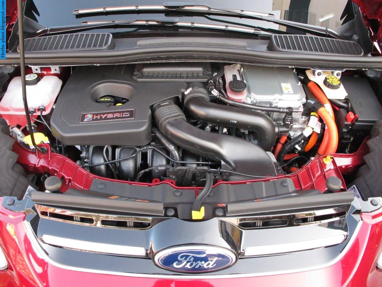 Ford c-max car 2013 engine - صور محرك سيارة فورد سي-ماكس 2013