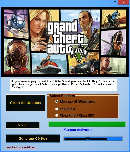 grand theft auto v key activation  pc
