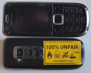 100% unfair mobiltelefon - konfliktmetaller