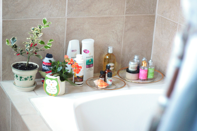 blogger house tour bathroom