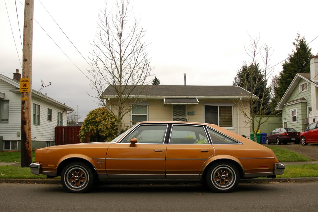 Old parked cars 1978 oldsmobile cutlass salon brougham for 78 cutlass salon