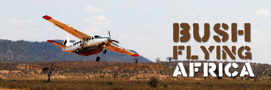 Bush flying Africa