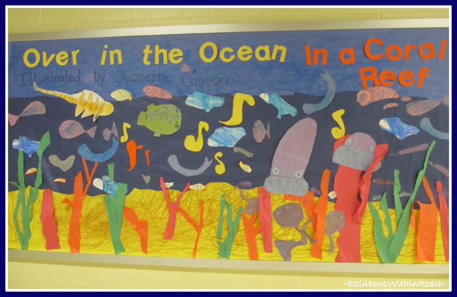 photo of: Bulletin Board: &quot;Over in the Ocean in a Coral Reef&quot; (from Bulletin Board RoundUP via RainbowsWithinReach) 