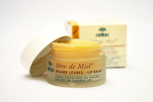 Nuxe Rêve de Miel Lip Balm Review