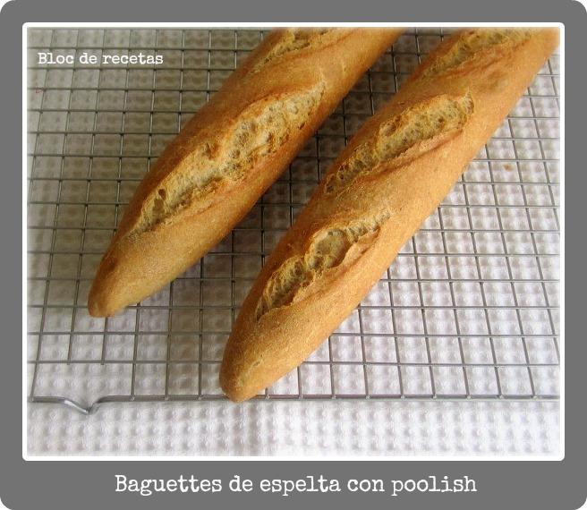 Poolish: 150 gr. de harina de espelta + 150 gr. de agua + una pizca de ...