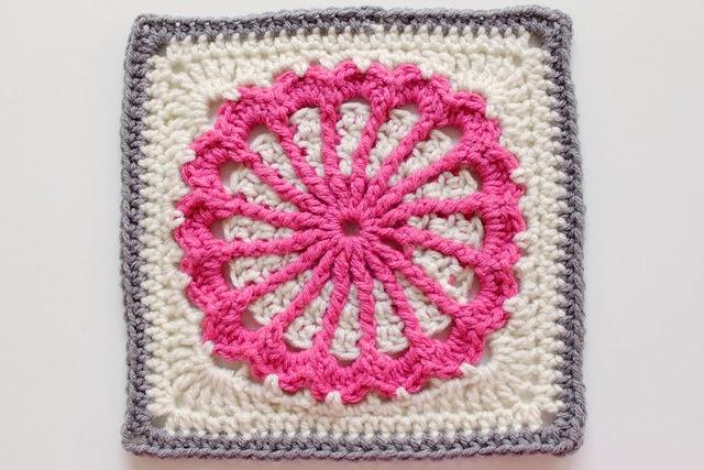 Free Crochet Granny Square Motif Patterns : Free Crochet Granny Square Motif Patterns