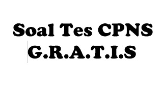 Download Soal Tes CPNS 2013 Gratis