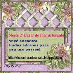 2° Bazar>>ENFEITANDO VOCÊ