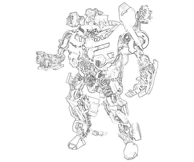 Free transformers star scream coloring pages for Transformers coloring pages starscream