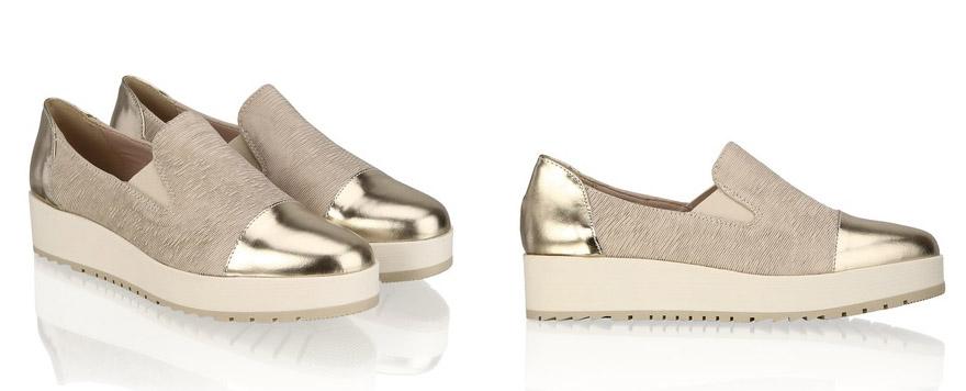 Alisha Gold Shoes