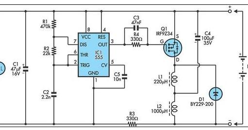 12v lead acid battery desultorily circuit diagram