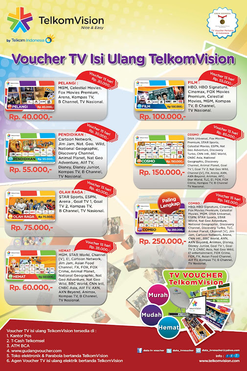 melayani voucher telkomvision