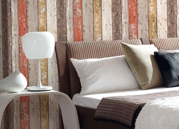Papel pintado papel pintado wood 39 n stone maderas y piedras - Papel de empapelar paredes ...
