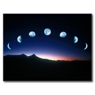 Earth Moon Phases.