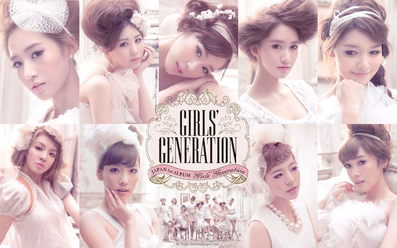Wallpaper All My Love Is For You : S ne s Generation [????]: Girls Generation - 1st Japan Album