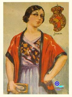 Traje típico de Jaén - Amatller
