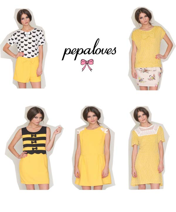 Pepa Loves Amarillo Tendencia