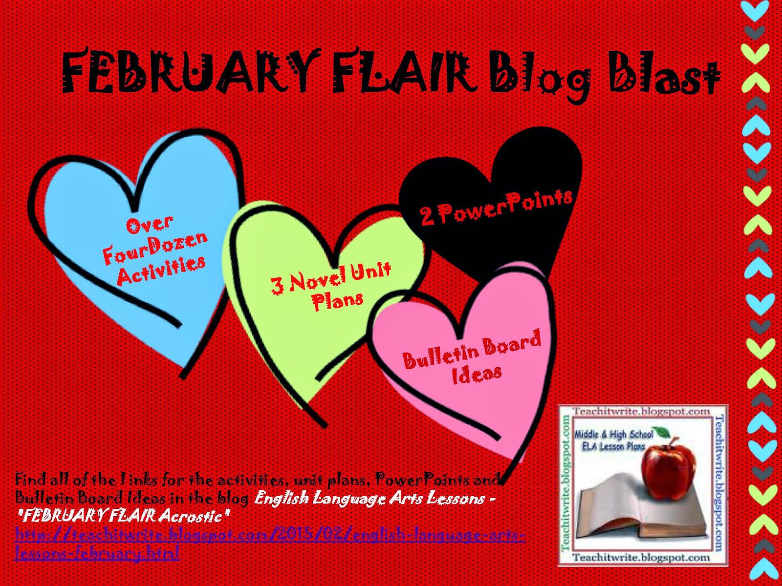 February Flair Blog Blast